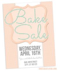 Spring Bake Sale Flyer Design Bake Sale Flyers Free