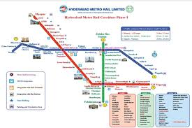 Metro Train Fares Chart In Hyderabad Hyderabad Metro Rail Route Ticket Fares Smart Card Map