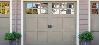 how to paint a wood garage door