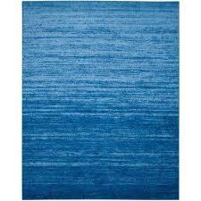 adirondack light blue dark blue 8 ft x 10 ft area rug