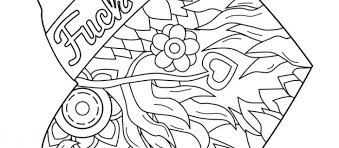 48 Swear Word Coloring Pages Printable Free String Town Blog