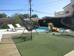 modern outdoor carpet tiles
