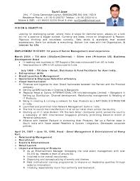 Sample Resume India Resume For Your Job Application