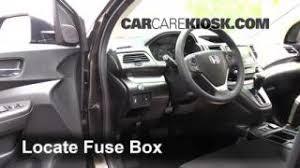 blown fuse check 2012 2016 honda cr v 2015 honda cr v ex 2 4l 4 cyl interior fuse box location 2012 2016 honda cr v