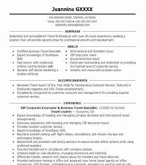 Sample Travel Management Resume Tourism Resume Magdalene Project Org