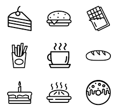 Bakery Icons 12828 Free Vector Icons