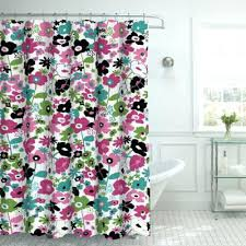 salmon shower curtain superb pink fl shower curtain curtains from bed bath beyond salmon pink salmon shower curtain c color