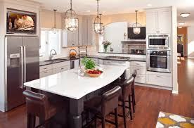 for a sleek almost metallic look homeowners are turning to gray coatings for their cabinetry light grays evoke a serene calm feeling while dark grays
