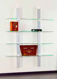 Small Picture Wall mounted shelf contemporary glass for shops Z2 SDB