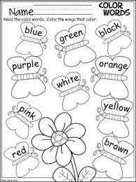 8ca87762f2470d2bf2bda43bde02c93c coloring worksheets preschool colors 300 best images about english lesson on pinterest worksheets on sentence development worksheets