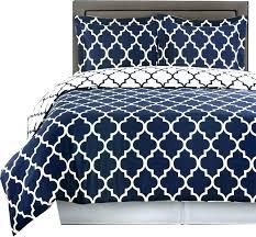 twin blue ticking duvet cover king blue duvet cover meridian 100 cotton printed 4pc comforter set