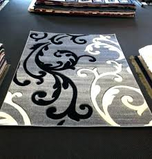 plush area rugs 5x7 white rug decoration black and for impressive furniture direct