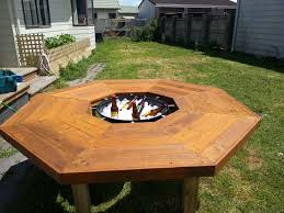 I have created an ice bucket/fire pit/bbq table