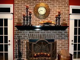 large brick fireplace decorating ideas interior decorate hearth ideas mantels for summer brick large wall decorating a fireplace home furniture designs in
