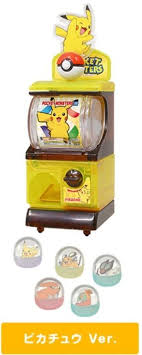Pokemon Vending Machine Toys Beauteous Tomy Pokemon XYZ Pikachu Mini Vending Machine Gashapon Capsule