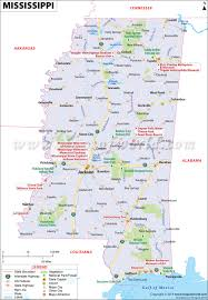 map of mississippi mississippi map (ms)