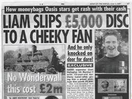 Liam gave my friend a hole punch': Oasis fans, twenty years on
