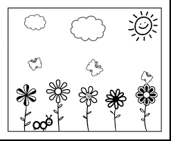 Colouring Pages Toddlers Printable Flower Worksheet For