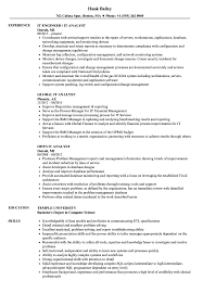 It Analyst Resume Examples IT Analyst Resume Samples Velvet Jobs 5