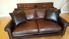 ralph lauren sofa. Rare Ralph Lauren Custom McIntyre Sofa \u0026 Love Set Brown Crocodile Design