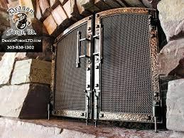 mesmerizing custom fireplace doors bronze and iron whitefish custom fireplace doors custom fireplace doors calgary