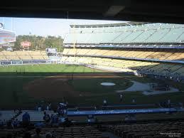 Los Angeles Dodgers Dodger Stadium Seating Chart