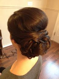 Chingon Hair Style bridal low chignon updo perfect amount of volume 3 laurens 5219 by wearticles.com