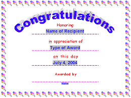 Award Certificates, Award Certificate, Gift Certificate Template ...