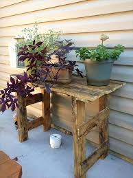 diy pallet plans stand diy plant stand pallet with wooden ideas