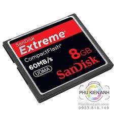 Thẻ nhớ sandisk CF 8gb 60mb - phukienanh.com