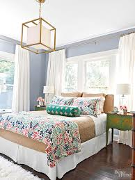 Colorful Master Bedroom Makeover From BHG