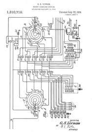 relay logic figure 1 from vernam s patent