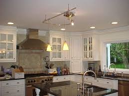 creative of kitchen island track lighting monorail lighting over kitchen island advice for your home