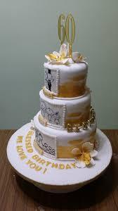 60th Birthday Cake 60th Birthday Cake Chloe Thean Flickr