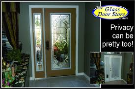 glass front door privacy and front door replacement with decorative glass doors
