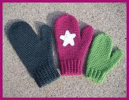 Free Crochet Mitten Patterns