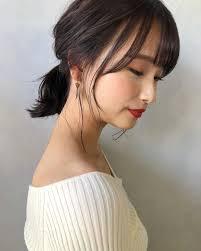 頭の形がハチ張りな女性に似合う髪型5選ハチを目立たなくするコツも Cuty