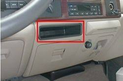 brake controller installation on a ford super duty truck 2005 2007 ford storage compartment