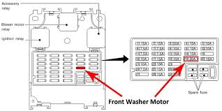 1997 pathfinder fuse box layout 1997 wiring diagrams online