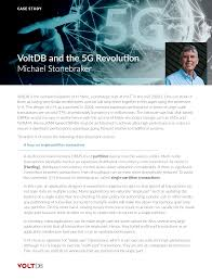 Technical Paper Voltdb And The 5g Revolution By Dr