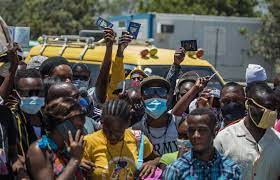Rivals in Haiti battle for power as ...