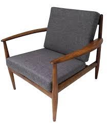 image of rustic teak lounge chair