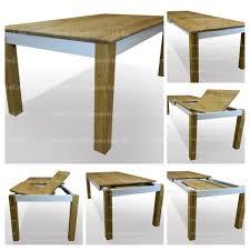 Esstisch Eiche Massiv Ausziehbar Ausführung Als Standard Tisch Mit