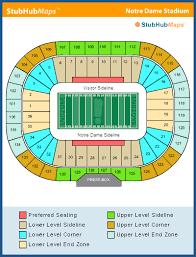Football Stadium Notre Dame Football Stadium Seating