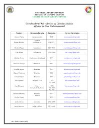 Listado Coordinadoras Web Ética Gubernamental RCM