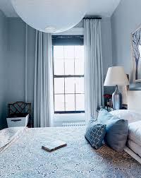 Interior Blue Bedroom Wahl Der Deckenfarbe Tapete Boden Vorhänge