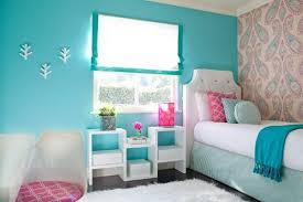 Amazing Blue and Pink Bedroom