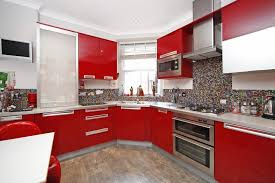 kitchen red black tiles red black and white art red white and black kitchen floor tile