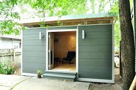 prefab backyard office. Backyard Office Shed Studio Prefab Sheds . R