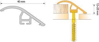 Купить <b>Порог ПВХ Salag</b> CIRRUS C40 0,93 м 02 дуб ...